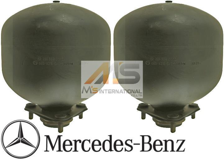 【M's】W217 W216 ベンツ AMG CLクラス(クーペ)純正品 ABC リア アキュームレーター(左右)//アクティブボディコントロール Sクラスクーペ C217 C216 S400 S550 S63 S65 CL500 CL550 CL600 CL63 CL65 221-328-0015 2213280015