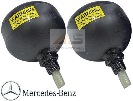 【M's】R230 ベンツAMG SLクラス(01y-11y)純正品 リア アキュームレーター 2個(ABC車用)//正規品 アクティブボディコントロール 油圧式 左右 C230 SL350 SL500 SL550 SL600 SL55 SL65 220-327-0215 2203270215