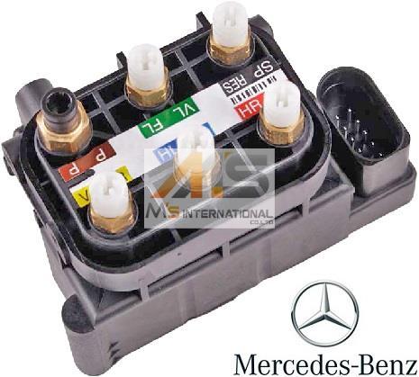 【M's】W251 ベンツ AMG Rクラス(06y-14y)純正品 エアサスコントロール バルブブロック//正規品 エアサスバルブブロック R350 R500 R63 212-320-0358 2123200358