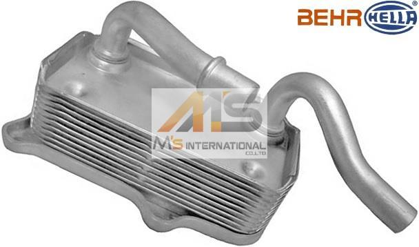 【M's】W639 ベンツ Vクラス ビアノ 3.2 V350(V6/M112)BEHR製 エンジン オイルクーラー ASSY//純正OEM HELLA ヘラ 112-188-0401 1121880401 112-188-0301 1121880301