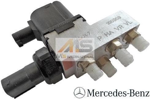 【M's】W211 ベンツ AMG Eクラス(2002y-2009y)純正品 エアサスバルブブロック//正規品 E320 E350 E500 E550 E55 E63 211-320-0158 2113200158