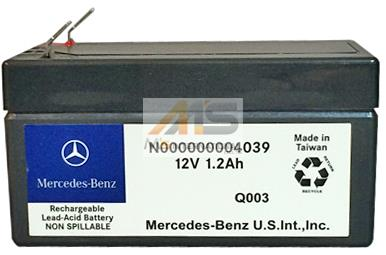 【M's】X164 GLクラス/W463 Gクラス(ゲレンデ)純正品 サブバッテリー 12V 1.2AH (ダッシュボード内配置型)//正規品 ベンツ AMG 000000004039 N000000004039