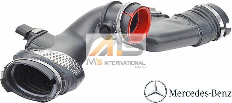 【M's】X166 ベンツ GL350 V6/M642(2013y-)純正品 エアーインテークダクト//正規品 エアマスセンサー GLクラス CDI 642-090-8237 6420908237