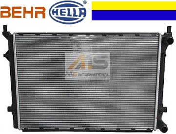 【M's】VW ゴルフ5/ゴルフプラス/ジェッタ(1K) トゥーラン(1T) パサート(3C)BEHR_HELLA製・他 ラジエーター//フォルクスワーゲン AUDI 純正OEM ラジエター 1K0-121-251CJ 1K0121251CJ 1K0121251AR 1K0121251CN 1K0121251R 1K0121253AC 1K0121253AN
