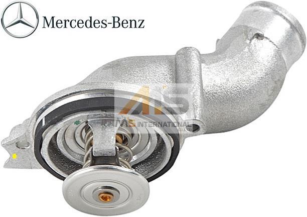 【M's】AMG R230 SL55/W220 S55/W215 CL55(V8/M119)純正品 サーモスタット(87℃)//ベンツ 正規品 サーモスタッド SLクラス Sクラス CLクラス 113-203-0275 1132030275