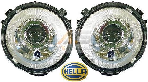 【M's】W463 ベンツ AMG Gクラス(2007y-)HELLA製 バイキセノン ヘッドライト (左右)//純正OEM バイキセノンライト ヘラ G320 G350 G500 G55 G63 G65 日本仕様 左側通行用 ライト 463-820-0959 4638200959