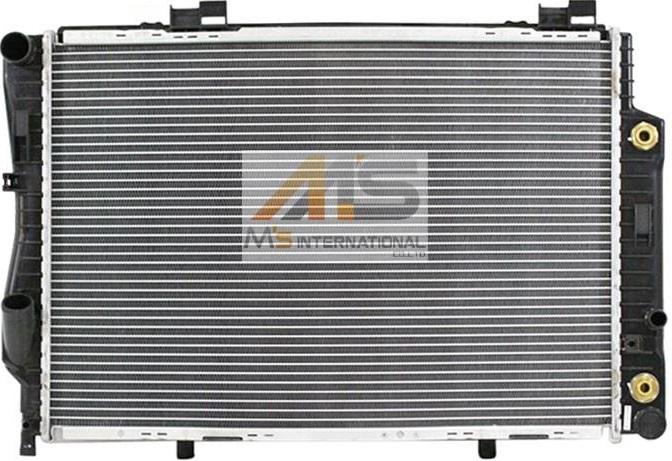 【M's】W202 ベンツ AMG C280 C36(V6/M104)BEHR製 ラジエーター//純正OEM ラジエター 202-500-4103 2025004103
