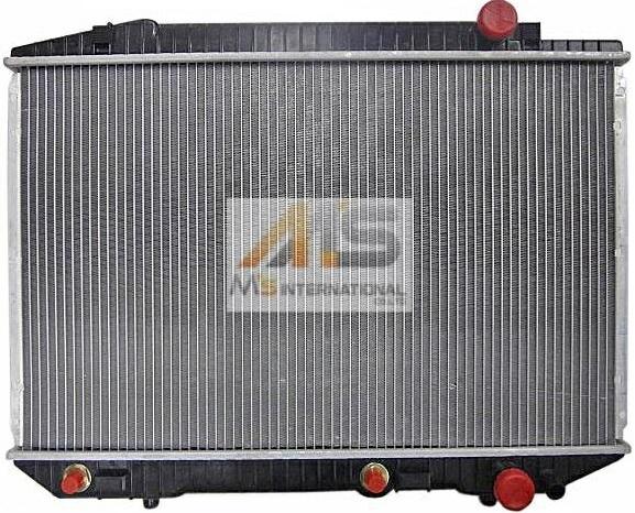 【M's】W126 ベンツ Sクラス(V8)BEHR製 ラジエーター//純正OEM ラジエター M116/M117 380SEL 420SEL 500SEL 560SEL 380SEC 500SEC 560SEC 126-500-4803 1265004803