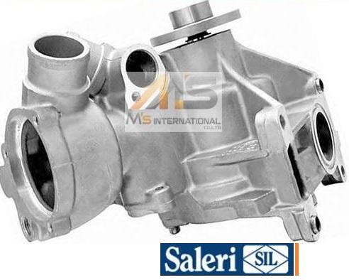 【M's】R129 ベンツ SL320 SLクラス(直6)SIL製 ウォーターポンプ(ガスケット付)//社外品 M104 C129 104-200-3301 1042003301 PA716