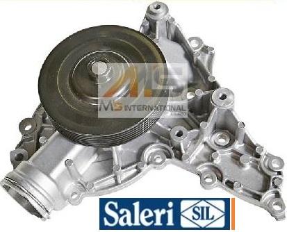 【M's】W251 ベンツ R500 R550 V8(M273)SIL製 ウォーターポンプ(ガスケット付)//社外品 Rクラス 273-200-0201 2732000201 PA1415
