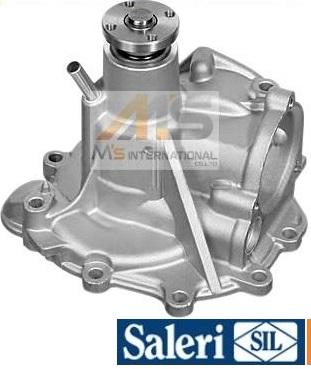 【M's】R129 ベンツ SLクラス V8(92y-)SIL製 ウォーターポンプ (パッキン付)//社外品 M119 C129 500SL SL500 119-200-2101 1192002101 PA954