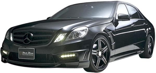 【M's】W212 ベンツ Eクラス セダン (前期/09y-13y) E250 E300 E500 WALD SPORTS LINE Black Bison フルエアロ3点 LEDver (F,S,R) // BENZ ヴァルド スポーツライン ブラックバイソン フロントバンパー サイドステップ リアバンパー FRP製 未塗装 新品