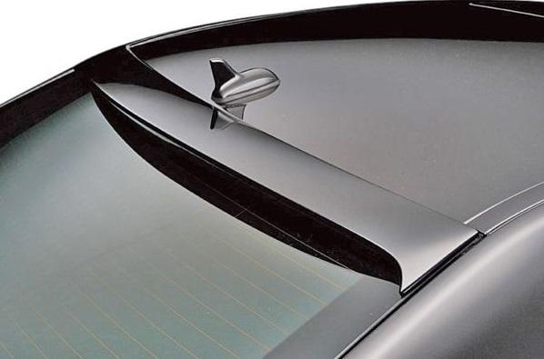 【M's】W212 ベンツ Eクラス セダン (前期/09y-13y) E250 E300 E500 E550 WALD SPORTS LINE Black Bison ルーフスポイラー // BENZ ヴァルド スポーツライン ブラックバイソン R リア リヤ FRP製 未塗装 新品