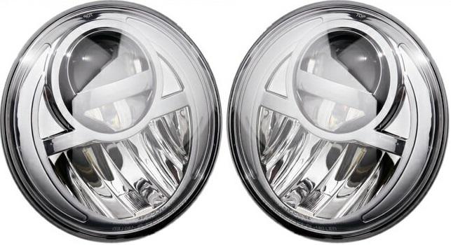 【M's】W463 ベンツ AMG Gクラス(-2006y)BlanBallen製 プロジェクター LED ヘッドライト(クローム)//社外品 WALD ブランバレン 5500K G320 G500 G55 省電力 次世代型LEDヘッドライト