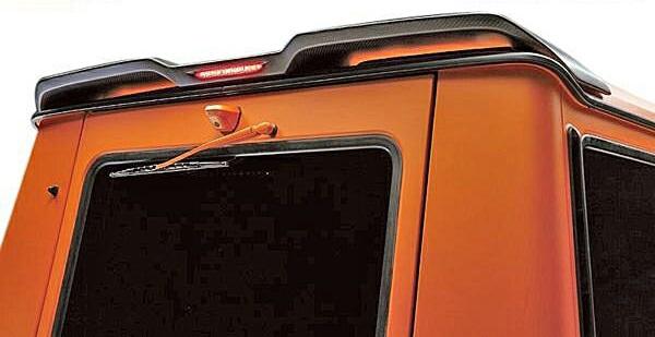 【M's】W463 ベンツ AMG Gクラス(ゲレンデ)WALD ルーフウイング (LEDランプ付属)//FRP製 ヴァルド バルド エアロ SPORTS LINE Black Bison Edition ブラックバイソン 230GE 300GE G320 G350 G500 G550 G36 G55 未塗装 素地