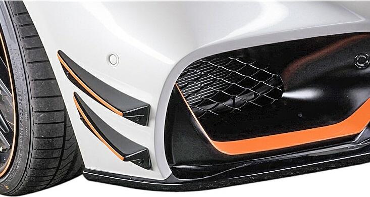 【M's】C190 メルセデス-AMG GT(2015y-)WALD カナード(FRP)//正規品 ヴァルド バルド SPORTS LINE Black Bison Edition エアロ W190 ベンツ AMG-GT Mercedes-AMG GT