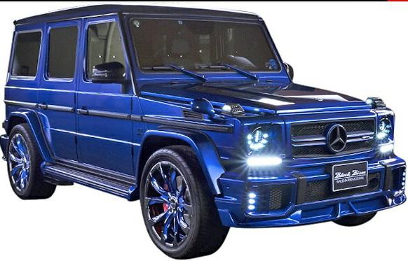 【M's】W463 AMG G63(2013y-)WALD Black Bison エアロ 3Pキット//HYBRID製 エアロ ヴァルド バルド ブラックバイソン ハイブリッド FRP カーボン CARBON エアロキット ベンツ Gクラス ゲレンデ(フロントスポイラー+LEDインサートエアダクト+リアバンパースポイラー)