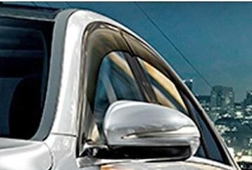 【M's】W205 ベンツ AMG Cクラス セダン(2014y-)純正品 ドアバイザー 前後(フロント+リア セット)//正規品 サイドバイザー C180 C200 C220 C250 C350 C450 C63 M2057201010MM