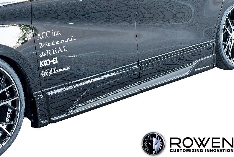 【M's】トヨタ アルファード 30系 RR Sグレード 後期 (2018.01-) ROWEN サイドパネル 左右//ABS ローウェン エアロ ロエン ローエン ロウェン ローウェン ALPHARD 30アルファード アルファード30 AGH GGH AYH30W 1T018J00