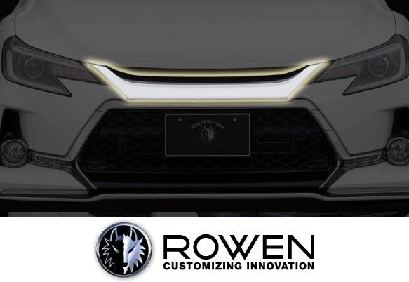 【M's】トヨタ マークX G's (2013.12-2017.12) ROWEN フロントマスク//Wet Carbon ウェットカーボン エアロ ロェン ローウェン ロエン ローエン ロウェン TOYOTA MARK X マークエックス GRX130 GRX133 1T010C10