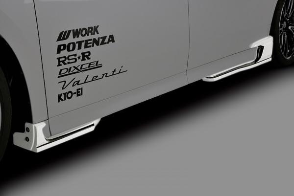 M's トヨタ 30系 後期 ヴェルファイア Zグレード 2018.01- ROWEN 完売 JAPAN PREMIUM サイドアンダーエクステンション 4PCS ロウェン ABS 30後期 30ヴェルファイア 国内即発送 ローエン 1T018J01 ロェン VELLFIRE ベルファイア エアロ ローウェン 30ベルファイア