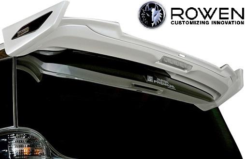 【M's】トヨタ 30系 後期 ヴェルファイア (2018.01-) ROWEN JAPAN PREMIUM リヤウイング 5PCS//CARBON+FRP+ABS カーボン エアロ ロェン ロウェン ローウェン ローエン ベルファイア 30ヴェルファイア 30ベルファイア 30後期 リアウイング ルーフウイング 1T018W10
