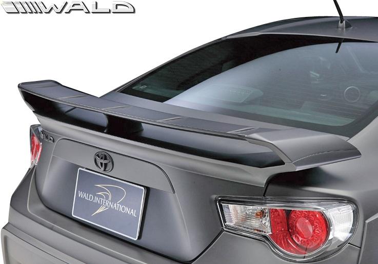 【M's】トヨタ 86 ZN6 (H24.4-) WALD Sports Line リアウイング//FRP製 ハチロク ヴァルド バルド エアロ カスタム シンプル スポーツライン TOYOTA ドリフト ゼロヨン リヤウイング