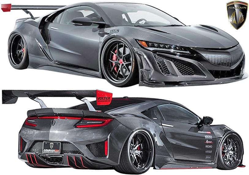【M's】ホンダ NSX NC1 (2016y-) AIMGAIN GT パーフェクトボディキット 10点//エイムゲイン ドライカーボン DRY CARBON エアロ フルエアロ エアロキット エアロセット フルキット フルセット NS-X N-SX エヌエスエックス HONDA ACURA アキュラ