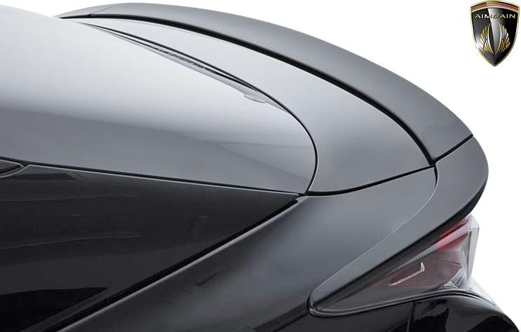 【M's】トヨタ 50プリウス HYBRID タイプL 前期 (2015y-2018y) AIMGAIN トランクスポイラー (3ピース)//エイムゲイン FRP製 エアロ エアロパーツ トランクウイング プリウスエアロ プリウス50 50系 プリウス 前期プリウス 50前期 TOYOTA PRIUS 50PRIUS ZVW50 TYPE-L