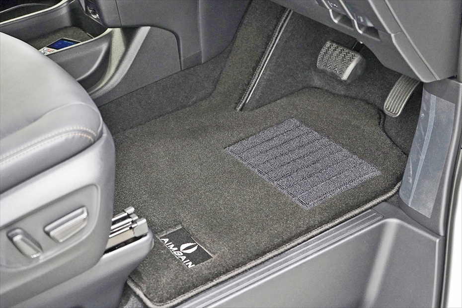 【M's】トヨタ グランエース GDH303W (2020y-) AIMGAIN 純VIP フロアマット 6人乗用//エイムゲイン 室内マット TOYOTA GRANACE 新型