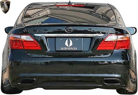 【M's】レクサス 40系 中期 LS460 LS460L (2009.9 - 2012.10) AIMGAIN 純VIP リアバンパー//USF40 USF41 FRP エイムゲイン エアロ リヤバンパー カスタム シンプル レクサスLS LEXUS LS 40LS LS40 中期LS 40中期LS