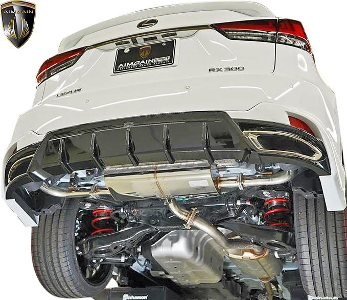 【M's】 LEXUS 後期 RX300 F-SPORT ( 2019.8- ) AIMGAIN SPORT エキゾースト マフラー // オールステンレスマフラー スポーツマフラー レクサス RX AGL20 AGL25 エイムゲイン スポーツ エアロパーツ カスタム ドレスアップ シンプル レクサスRX Fスポーツ 車検対応