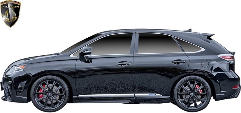 【2021正規激安】 【M's】 レクサス 10 RXエアロ RX 後期 RX450h レクサスエアロ RX350 10RX RX270 (2012.4-2015.10) AIMGAIN 純VIP GT サイドステップ 左右 // FRP 未塗装 エイムゲイン エアロ パーツ エイムガイン カスタム 10RX 10系 GYL GGL AGL RXエアロ レクサスRX レクサスエアロ サイドスポイラー, 半田市:f11e4dfe --- supernovahol.online