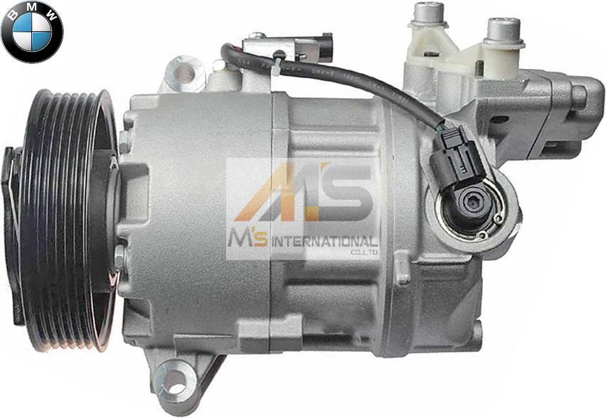 New Auto Car AC A//C Compressor for BMW E81 E82 E87 E90 E91 E92 316i 318i 320i