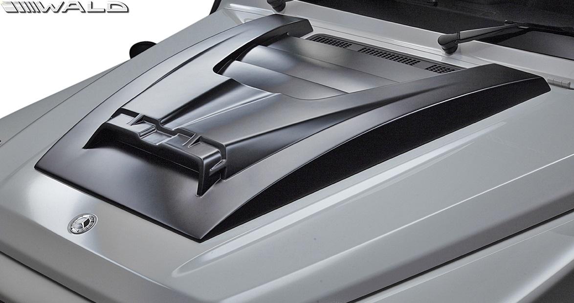 【M's】W463 ベンツ AMG G63 G550 G350d (2018y-) WALD Black Bison LED ボンネットスクープカバー//FRP 正規品 ヴァルド バルド ブラックバイソン エアロ エアロボンネットカバー カスタム ドレスアップ 改造 メルセデス BENZ Gクラス ゲレンデ 現行型 新型
