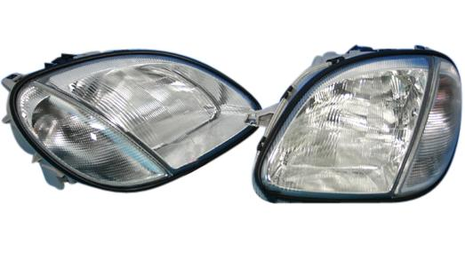 【M's】R170 ベンツ AMG SLKクラス(SLK200 SLK230 SLK320 SLK32)HELLA製 ハロゲンヘッドライト新品
