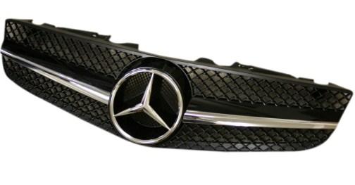 【M's】R230 ベンツ SLクラス(09y~)純正品 AMG 1本フィングリル 230-880-2283-9040 23088022839040 BENZ 新品