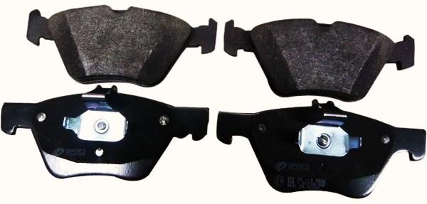 【M's】W124 ベンツ Eクラス(ミディアム)MINTEX製 フロントブレーキパッド左右新品