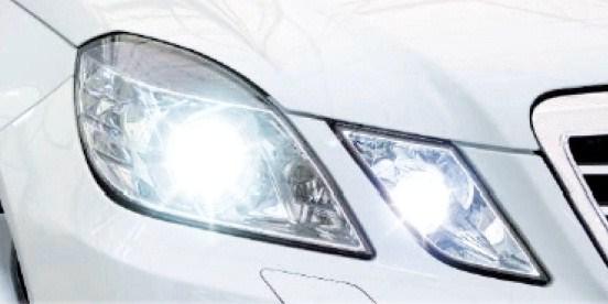 【M's】ベンツ W212 W207 Eクラス/ポジションライト用 PC-ボード タイプ 4-LED バルブユニット(スパーホワイト LEDバルブ)新品