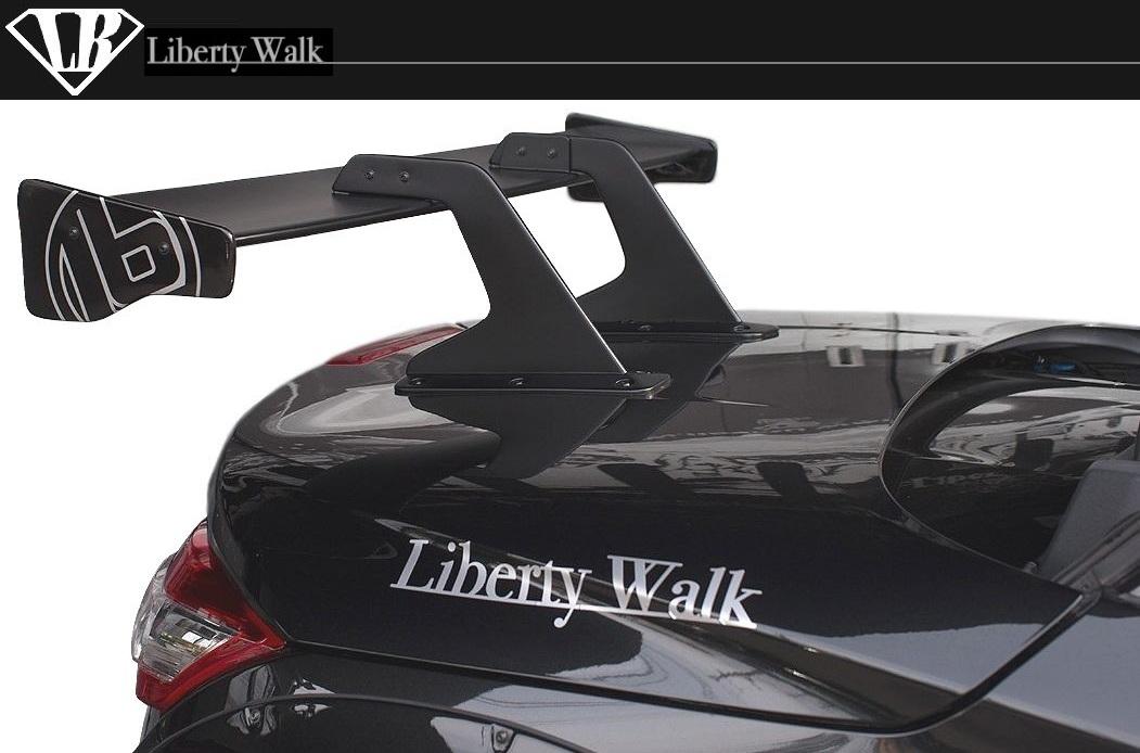 ダイハツ コペン LB リア ウイング ver.1(GTウイング)Liberty Walk エアロ lb★nation DAIHATSU COPEN GT-K Rear Bumper