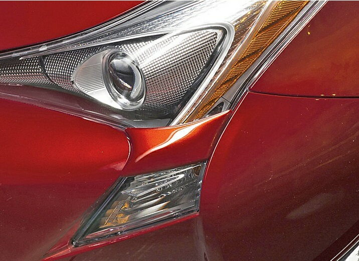 【M's】トヨタ プリウス ZVW50/ZVW55(H27.12-)WALD ヘッドライトカバー(左右)//社外品 新型 50系 PRIUS 50 ヴァルド バルド SPORTS LINE スポーツライン 50プリウス プリウス50 ABS製 未塗装