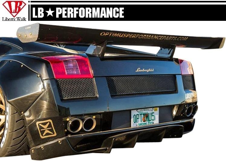 Emuzuparts Lamborghini Gallardo Lb Performance Aero Rear Wing
