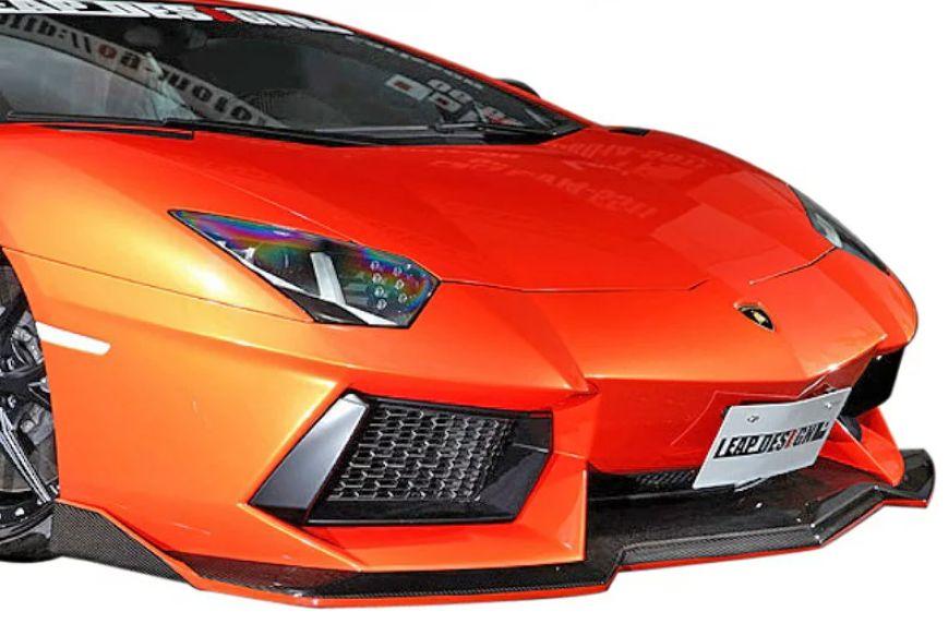 【M's】ランボルギーニ アヴェンタドール LP700-4(2011y-)LEAP DESIGN フロントスポイラー//Lamborghini Aventador リープデザイン