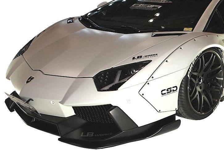 Emuzuparts Lamborghini Reventon Lb Works Front Bumper