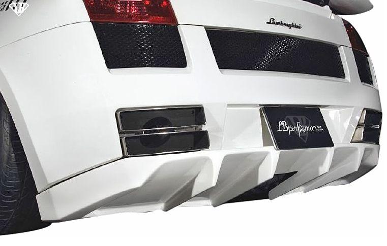 【M's】ランボルギーニ ガヤルド LB パフォーマンス エアロ / リア ディフューザー // Lamborghini Gallard / リヤ R デフューザー / LB-PERFORMANCE Complete Body kit FRP リバティウォーク
