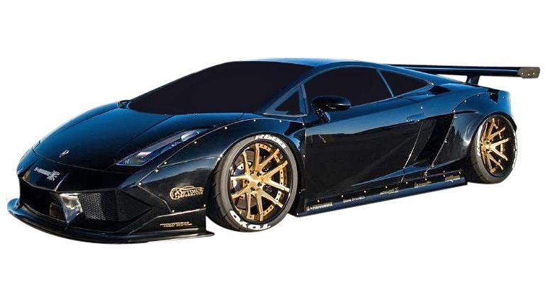 Emuzuparts Lamborghini Gallardo Lb Works Full Aero 6 Widebody