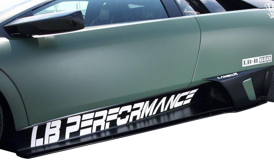 【M's】ランボルギーニ ムルシエラゴ LB PERFORMANCE エアロ / サイド ディフューザー // S デフューザー / LB パフォーマンス / Lamborghini Murcielago Body kit FRP リバティウォーク