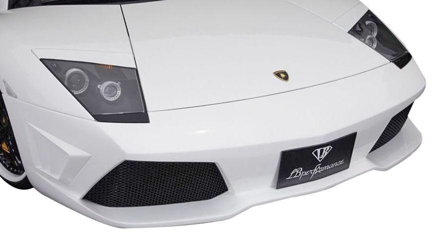 【M's】ランボルギーニ ムルシエラゴ LB PERFORMANCE エアロ / フロント バンパー Type.1 // F スポイラー / LB パフォーマンス / Lamborghini Murcielago Body kit FRP リバティウォーク