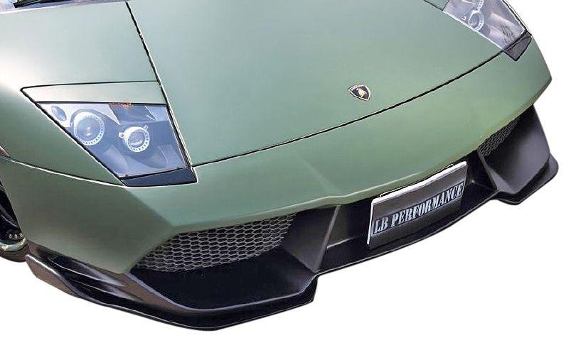 【M's】ランボルギーニ ムルシエラゴ LB PERFORMANCE エアロ / フロント バンパー Type.2 // F スポイラー / LB パフォーマンス / Lamborghini Murcielago Body kit FRP リバティウォーク