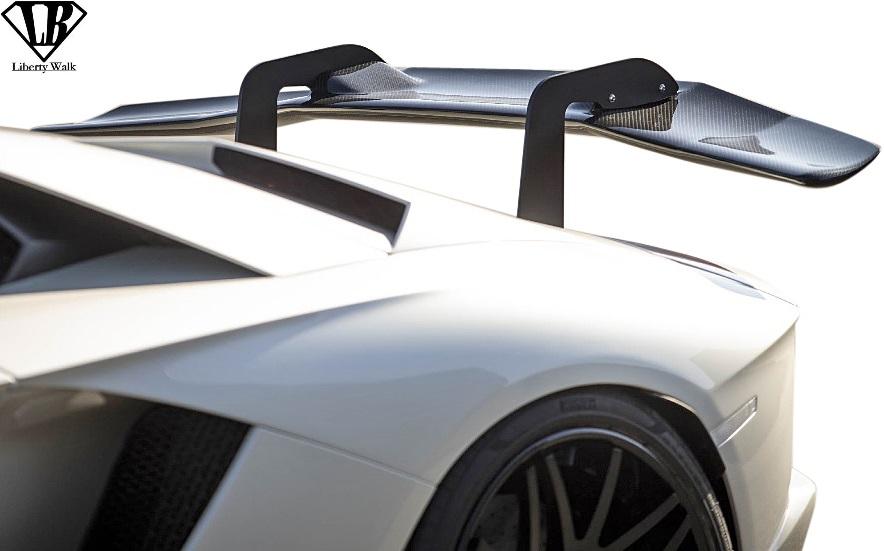 【予約】 【M's】ランボルギーニ アヴェンタドールS (2017y-) LB★PERFORMANCE リアウイング//Dry Carbon エアロ Liberty Walk リバティーウォーク リバティウォーク リバティー リバティ Lamborghini AVENTADOR-S リヤウイング, ハママツシ 0f30d8e2